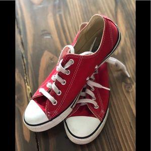 Red Women's Converse